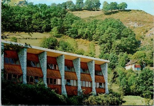 65 LOURDES - Cité secours St Pierre, le pavillon dortoir ST Jacques