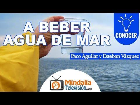 Un beber agua de mar, con Paco Aguilar y Esteban Vázquez