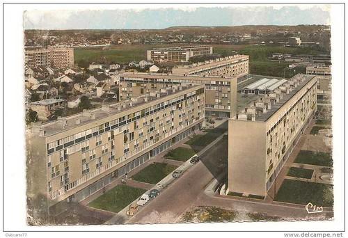 93 BONDY @ CITE MODERNE HLM LA NOUE CAILLET 1968