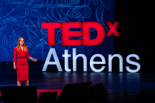 Victoria Turk at TEDx Athens