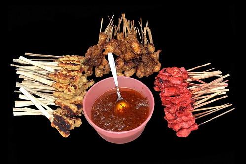 Indonesia - Bali - Sate Barbecue - 2d