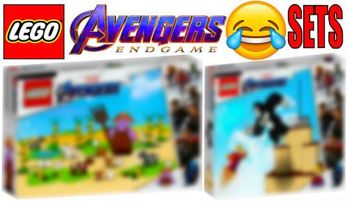 Funny Lego Avengers Endgame Sets !!! Par 2