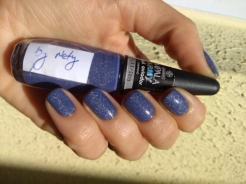 Azul aviador modificado by Nety sobre o jeans skinny, studio 35