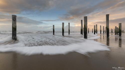 High Tide in Petten