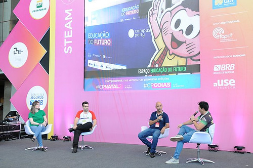 Tecnologia como suporte social é destaque na Campus Party