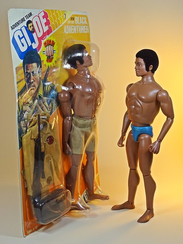 Hasbro – Adventure Team – Muscle Body – Black Adventurer – With Action Team Black Adventurer 1