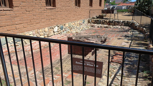 190609 207 Historic Mission San Juan Capistrano - Mission Industries Area, sacramental wine vat, was originally enclosed by a building