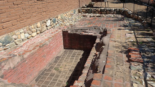 190609 208 Historic Mission San Juan Capistrano - Mission Industries Area, sacramental wine vat, was originally enclosed by a building
