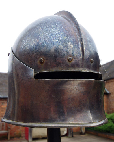 Battle of Bosworth - sallet helmet