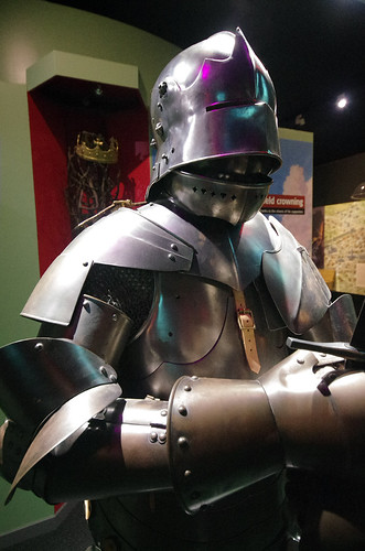 Battle of Bosworth - armour close-up