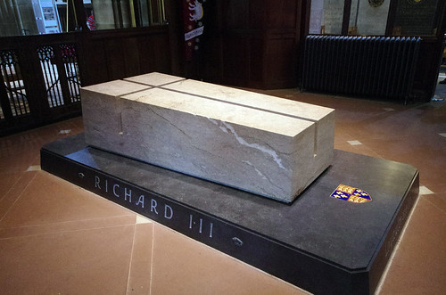 Richard's tomb, Leicester Cathedral