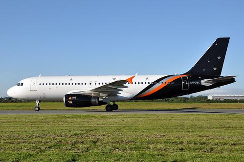 G-POWK A320-233  Titan Airways