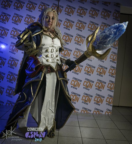 ComicdomCon Athens 2019 Cosplay Contest: Jaina Proudmoore | World of warcraft