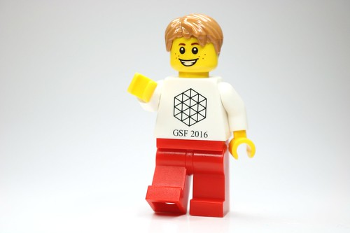 LEGO Google Science Fair 2016 minifigure