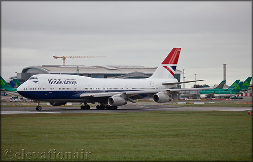 G-CIVB Boeing 747-436 British Airways (Negus livery)