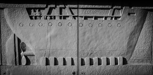 004 Shipbuilding Tableau, The Keel, River Mersey Promenade, Liverpool-2