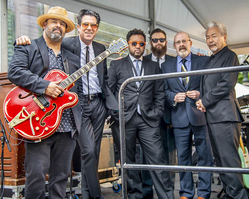 People & Performers at 2019 Chicago Blues Festival.