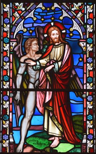 Get thee behind me, Satan (Lavers & Barraud, 1859)