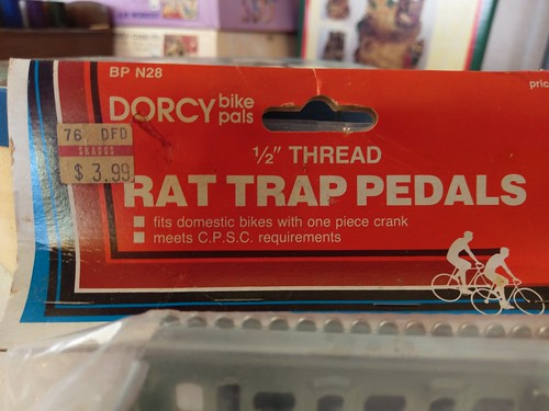 Rat trap bike pedals