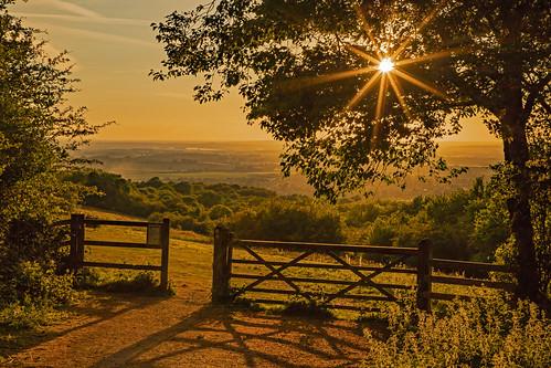 La porta del Paradiso / Gates to heaven (Watlington Hill, Oxfordshire, United Kingdom)