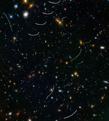Abell 370 Parallel Field with Asteroids
