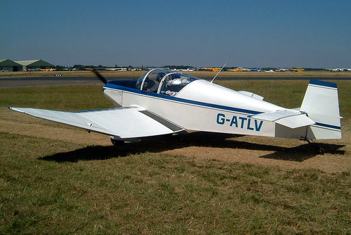 G-ATLV   Wassmer Jodel D.120 Paris-Nice [224] Kemble~G 13/07/2003