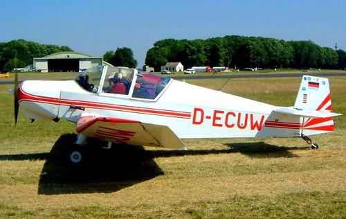 D-ECUW   Wassmer Jodel D.120R Paris-Nice [157] Kemble~G 13/07/2003