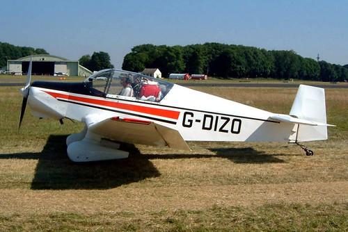 G-DIZO   Wassmer Jodel D.120A Paris-Nice [326] Kemble~G 13/07/2003