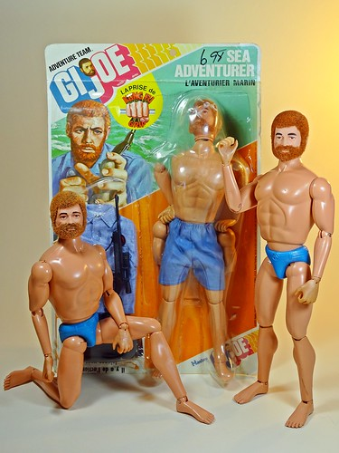 Hasbro – Adventure Team – Muscle Body – Sea Adventurer – L'aventurier Marine – Canadian Version – Moroccan Bathroom Full of French Seamen!