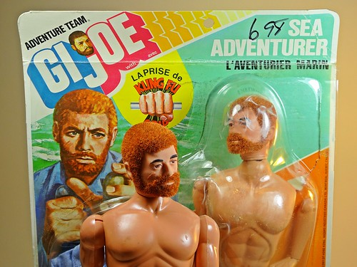 Hasbro – Adventure Team – Muscle Body – Sea Adventurer – L'aventurier Marine – Canadian Version – Close Up