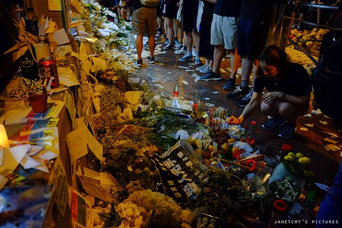 Mourn the first martyr of Hong Kong protests