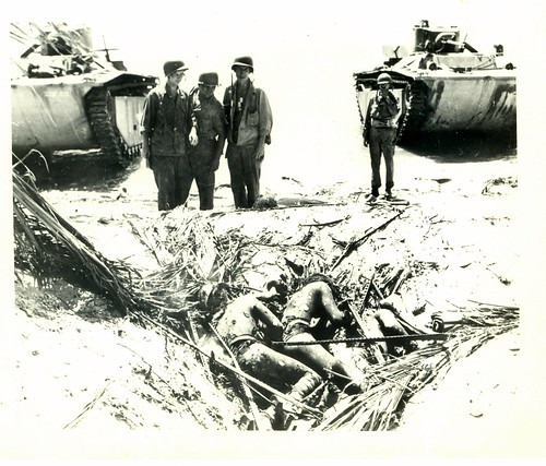 WWII, Bougainville, Marines, War Dead, Tanks