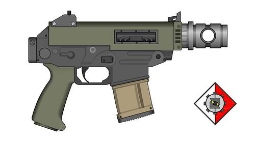 Octavius Pattern Bolter Pistol