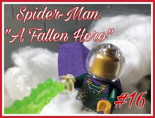 """Spider-Man: Issue 16 """"A Fallen Hero"""