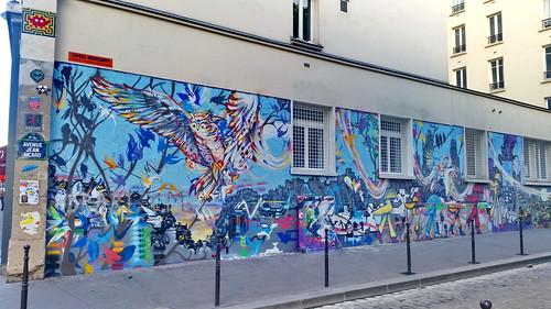 12 - Paris Mai 2019 - rue Oberkampf et avenue Jean Aicard