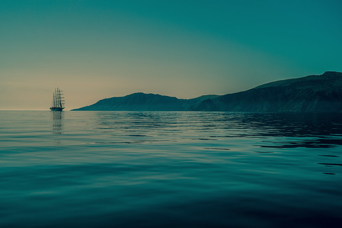 50 shades of blue.....