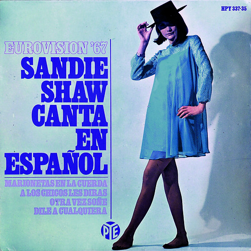 SANDIE SHAW (Hispavox) 1967