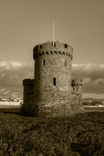 TOWER OF REFUGE, DOUGLAS BAY, DOUGLAS, ISLE OF MAN.