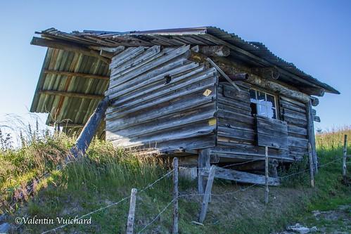 SF-IMG_7213 - La Magnena, Old abandonned mountain's sawmill, Gruyère region - Switzerland