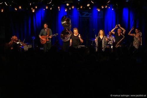 Hazmat Modine - Jazzit Musik Club Salzburg