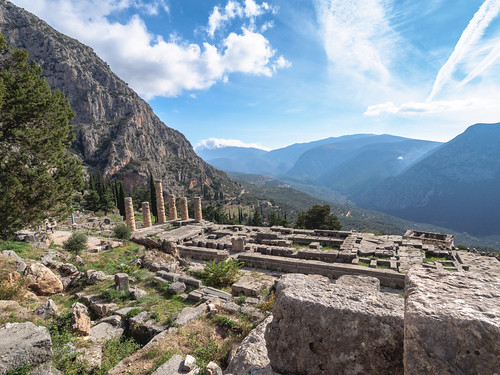 Templo de Apolo. Delfos