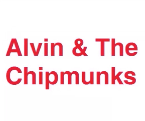 Alvin & The Chipmunks will become a 1st film releasing on December 13, 2021