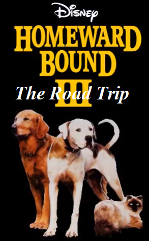 Homeward Bound 3 The Road Trip will become a 3rd film releasing on September 27, 2022