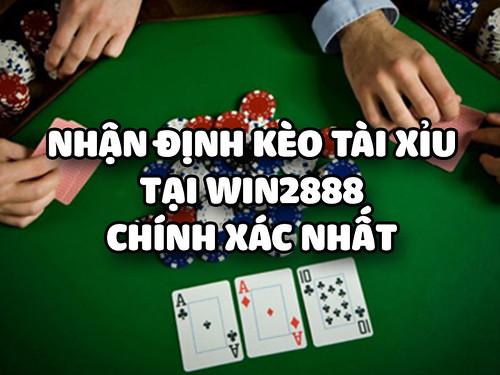 Nhận Định Kèo Tài Xỉu Bóng Đá Tại Win2888 Chính Xác Nhất