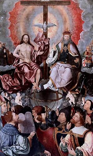 IMG_1200KZW Jacob Cornelisz van Oostsanen 1477-1533 Amsterdam La Trinité The Trinity 1523 Dijon . Musée des Beaux Arts