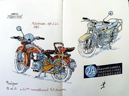 24ème Rassemblement International Motobécane