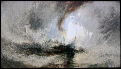 1842 JMW Turner - Snow Storm Steam-boat off a Harbour's Mouth