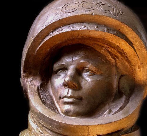 Иван Миско. Космонавт Юрий Гагарин. Ivan Misko. Cosmonaut Yuri Gagarin.