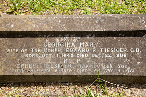 Ernest Thesiger's grave | Brompton Cemetery | June 2019-8
