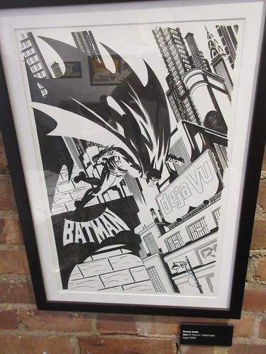 80 Years of Batman - Society of Illustrators Darwyn Cooke 3376